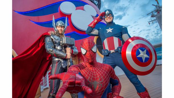 Disney Cruise Line Nova Iorque 2017 Marvel Cruzeiro Homem aranha Guardiões da Galáxia Thor