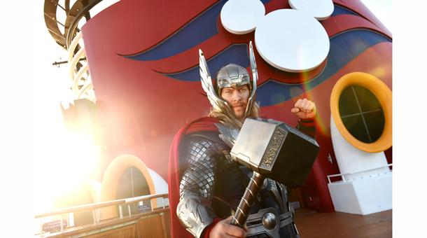 Disney Cruise Line Nova Iorque 2017 Marvel Cruzeiro Homem aranha Guardiões da Galáxia Thor super heroi