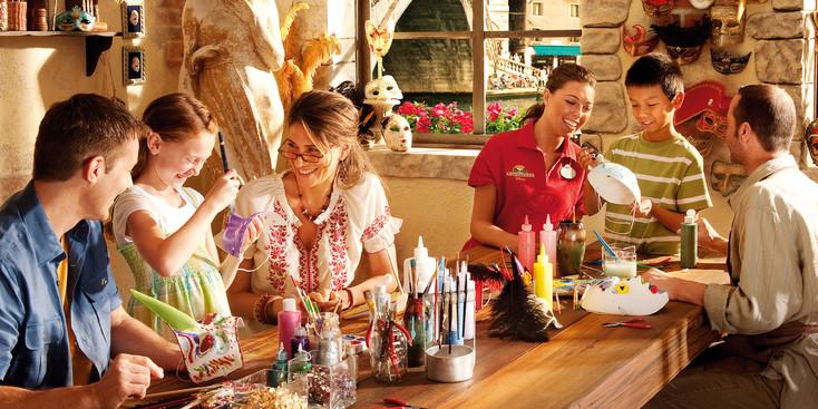 Adventures By Disney Italia Roma Toscana viagem com crianças Tour Veneza gondola mascaras