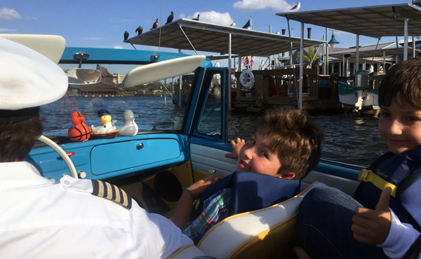 ammphicar the boathouse disney orlando viagem familia