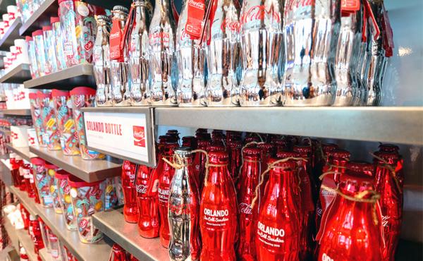 coca cola store orlando florida viagem crianças familia refrigerante lojinha