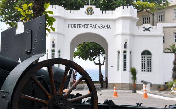 Forte de Copacabana viagem com crianças rio de janeiro familia