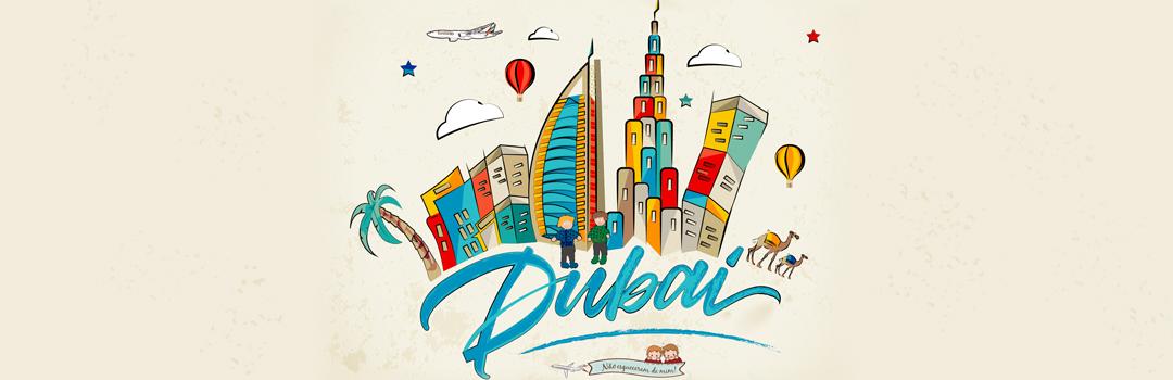 Dubai com Crianças como destino final de viagem!
