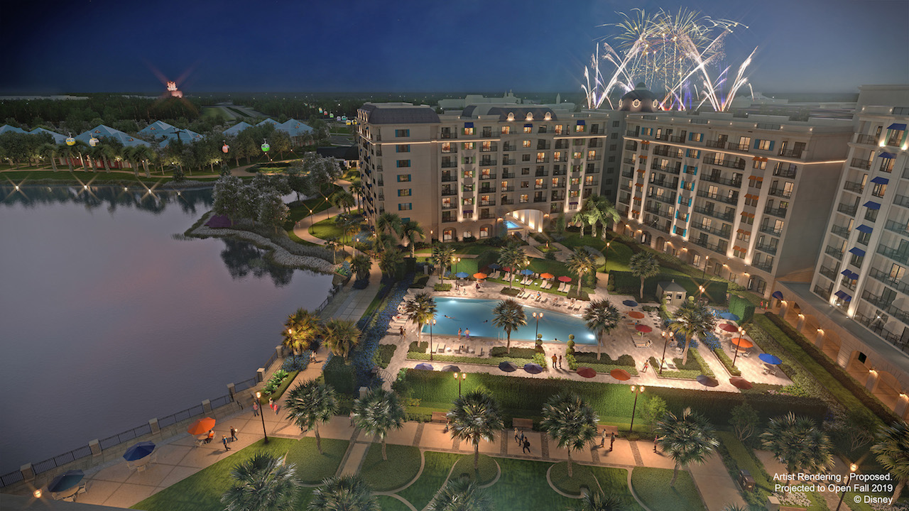 Inspired by the European grandeur Walt Disney experienced in his travels along the Mediterranean coastline, Disney's Riviera Resort is projected to open in fall 2019. This proposed resort will be the 15th Disney Vacation Club property. (Disney) - Galeria